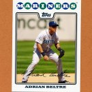 2008 Topps Baseball #199 Adrian Beltre - Seattle Mariners