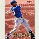 2002 Fleer Baseball #496 Mark Teixeira - Texas Rangers