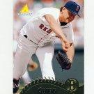 1995 Pinnacle Baseball #002 Roger Clemens - Boston Red Sox