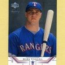 2002 Upper Deck Baseball #002 Mark Teixeira - Texas Rangers