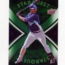 2008 Upper Deck First Edition Star Quest Baseball #SQ34 B.J. Upton - Tampa Bay Rays