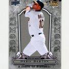2008 UD A Piece of History Baseball #133 Daric Barton RC - Oakland Athletics