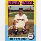1975 Topps Baseball #559 Bob Montgomery - Boston Red Sox