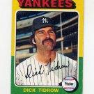 1975 Topps Baseball #241 Dick Tidrow - New York Yankees