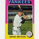1975 Topps Baseball #160 Graig Nettles - New York Yankees