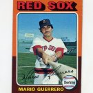 1975 Topps Baseball #152 Mario Guerrero - Boston Red Sox