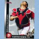 2010 Topps Topps Town Baseball #TTT11 Brian McCann - Atlanta Braves
