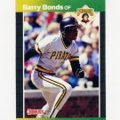 1989 Donruss Baseball #092 Barry Bonds - Pittsburgh Pirates
