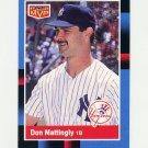 1988 Donruss Baseball Bonus MVP's #BC21 Don Mattingly - New York Yankees