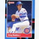 1988 Donruss Baseball #539 Greg Maddux - Chicago Cubs