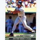 1992 Ultra Baseball #105 Don Mattingly - New York Yankees
