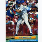 1992 Ultra Baseball #081 Paul Molitor - Milwaukee Brewers