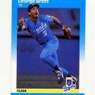 1987 Fleer Baseball #366 George Brett - Kansas City Royals