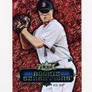 2007 Fleer Rookie Sensations Baseball #JP Jonathan Papelbon - Boston Red Sox