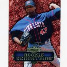 2007 Fleer Rookie Sensations Baseball #FL Francisco Liriano - Minnesota Twins
