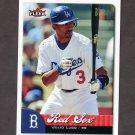 2007 Fleer Baseball #166 Julio Lugo - Boston Red Sox