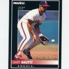 1992 Pinnacle Baseball #081 Gary Gaetti - California Angels