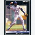 1992 Pinnacle Baseball #059 Harold Reynolds - Seattle Mariners