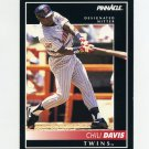 1992 Pinnacle Baseball #046 Chili Davis - Minnesota Twins
