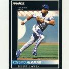1992 Pinnacle Baseball #045 Roberto Alomar - Toronto Blue Jays
