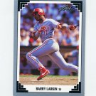 1991 Leaf Baseball #168 Barry Larkin - Cincinnati Reds