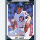 1991 Leaf Baseball #127 Greg Maddux - Chicago Cubs