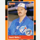 1988 Donruss Baseball's Best #311 David Wells - Toronto Blue Jays