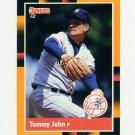 1988 Donruss Baseball's Best #220 Tommy John - New York Yankees