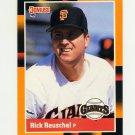 1988 Donruss Baseball's Best #218 Rick Reuschel - San Francisco Giants