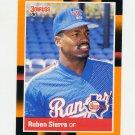 1988 Donruss Baseball's Best #200 Ruben Sierra - Texas Rangers
