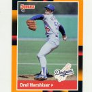 1988 Donruss Baseball's Best #148 Orel Hershiser - Los Angeles Dodgers