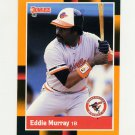 1988 Donruss Baseball's Best #142 Eddie Murray - Baltimore Orioles