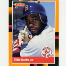 1988 Donruss Baseball's Best #121 Ellis Burks - Boston Red Sox