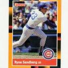 1988 Donruss Baseball's Best #116 Ryne Sandberg - Chicago Cubs