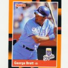 1988 Donruss Baseball's Best #039 George Brett - Kansas City Royals