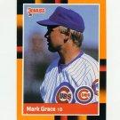 1988 Donruss Baseball's Best #004 Mark Grace - Chicago Cubs