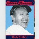 1990 Collect-A-Books Baseball #36 Bob Feller - Cleveland Indians