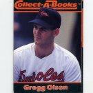 1990 Collect-A-Books Baseball #32 Gregg Olson - Baltimore Orioles
