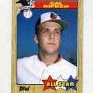 1987 Topps Baseball #609 Cal Ripken - Baltimore Orioles