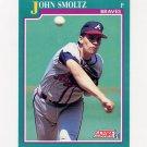 1991 Score Baseball #208 John Smoltz - Atlanta Braves