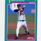 1991 Score Baseball #206 Tom Glavine - Atlanta Braves