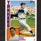 2012 Topps Archives Baseball #191 Yogi Berra - New York Yankees