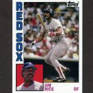 2012 Topps Archives Baseball #184 Jim Rice - Boston Red Sox
