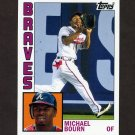 2012 Topps Archives Baseball #179 Michael Bourn - Atlanta Braves