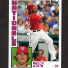 2012 Topps Archives Baseball #162 Jayson Werth - Washington Nationals