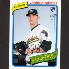 2012 Topps Archives Baseball #146 Jarrod Parker RC - Oakland Athletics