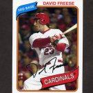 2012 Topps Archives Baseball #125 David Freese - St. Louis Cardinals