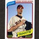 2012 Topps Archives Baseball #123 Ryan Vogelsong - San Francisco Giants