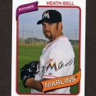 2012 Topps Archives Baseball #121 Heath Bell - Miami Marlins