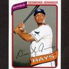 2012 Topps Archives Baseball #118 Desmond Jennings - Tampa Bay Rays
